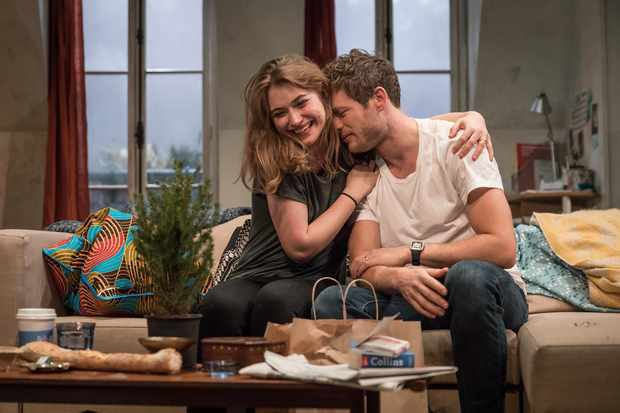 Imogen Poots and James Norton in Belleville