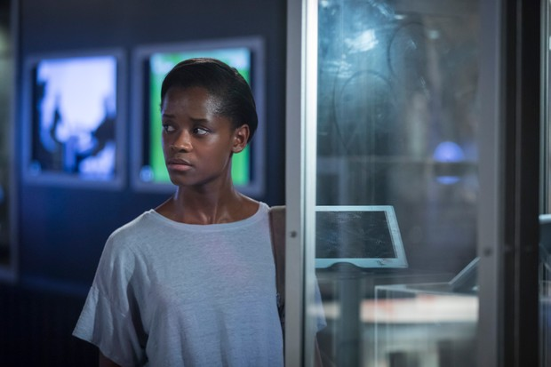 Letitia Wright in Black Museum (Netflix, TL)