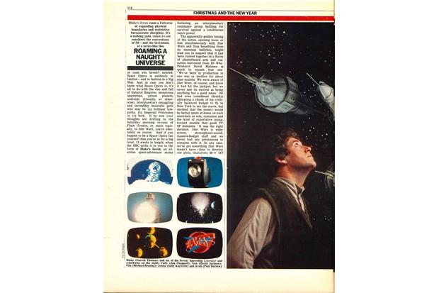 Blake's 7 1977 pg1