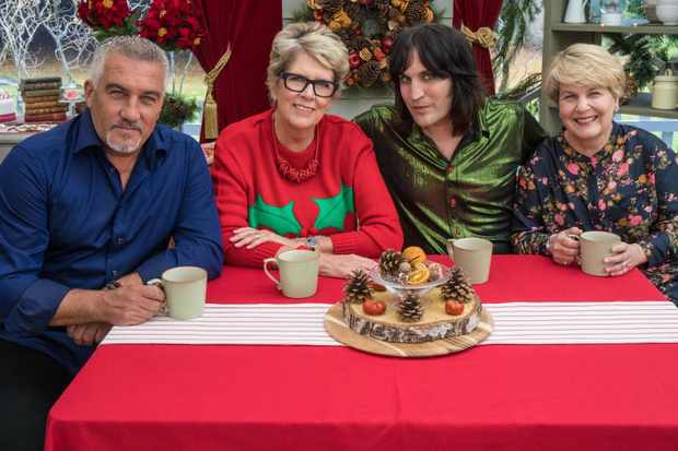 The Great Christmas Bake Off