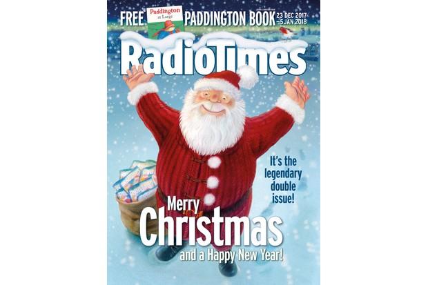 Radio Times Christmas Cover 2017
