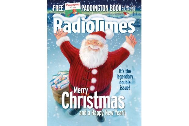 Radio Times Christmas Cover 2017