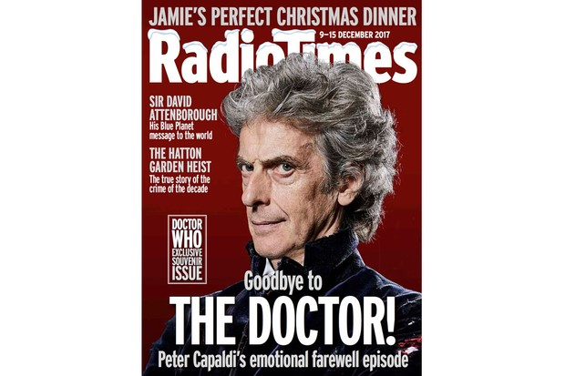 Doctor WHo cover decmber 2017