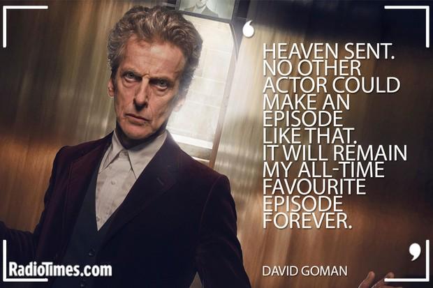 Peter Capaldi Tributes - David Goman