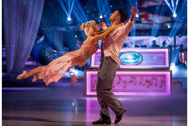 Debbie McGee in the Strictly final