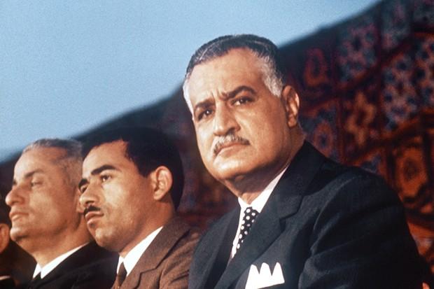 President Nasser of Egypt