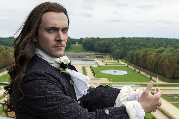 George Blagden plays King Louis XIV in Versailles