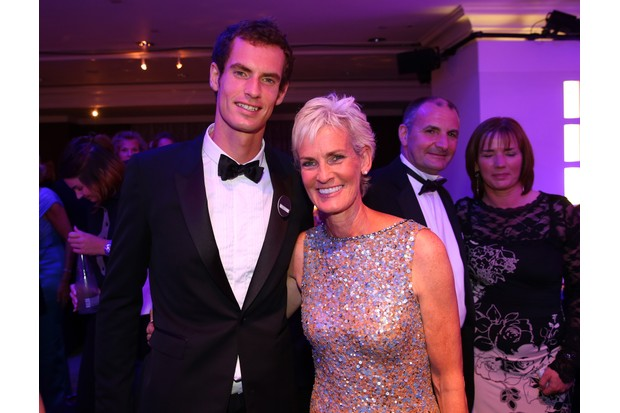 Judy and Andy Murray (Getty,mh)