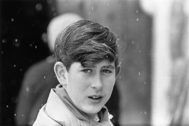 13th January 1963: Prince Charles, the Prince of Wales on a skiing holiday. (Photo by Stan Meagher/Express/Getty Images)