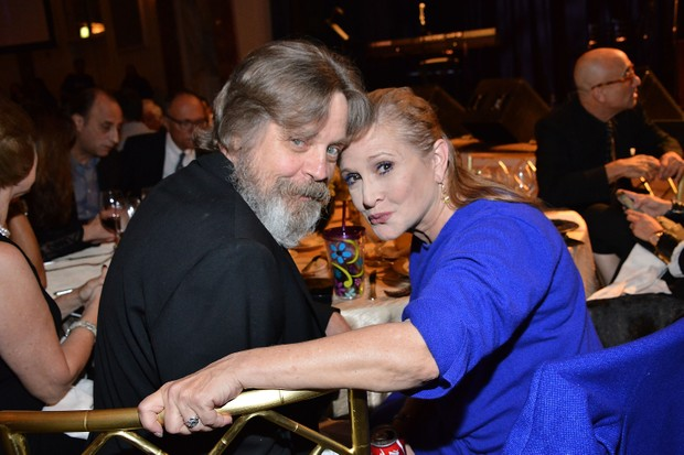 Mark Hammil, Carrie Fisher (Getty,mh)