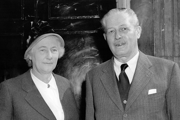 Harold Macmillan And His Wife Dorothy Macmillan