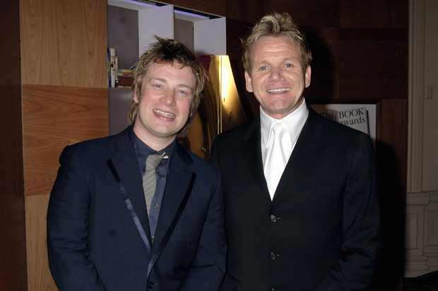 Jamie Oliver and Gordon Ramsay in 2006 (Getty, EH)