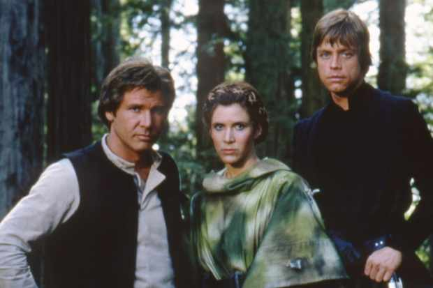 On the set of Star Wars: Episode VI - Return of the Jedi (Getty, EH)