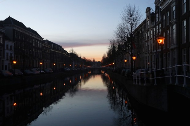 Leiden's canals provide the setting for The Miniaturist's waterways
