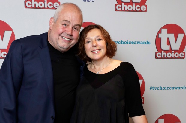 Call the Midwife stars Cliff Parisi and Annabelle Apsion (Getty, JG)