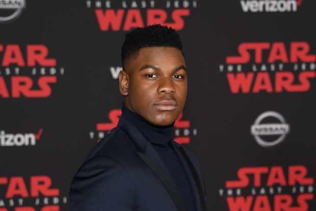 John Boyega at Star Wars: The Last Jedi LA premiere