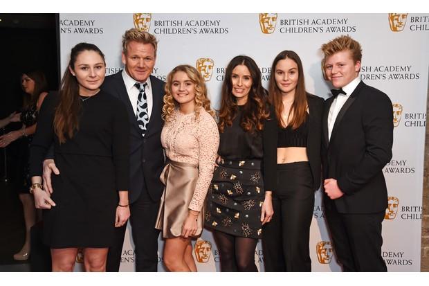 Gordon Ramsay, Tana Ramsay and family