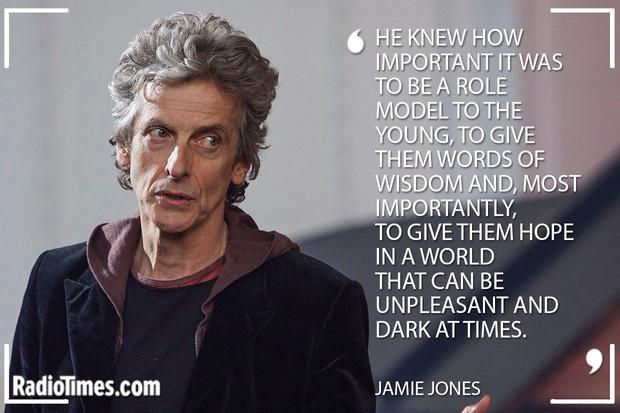 Doctor Who Peter Capaldi Tribute - Jamie Jones