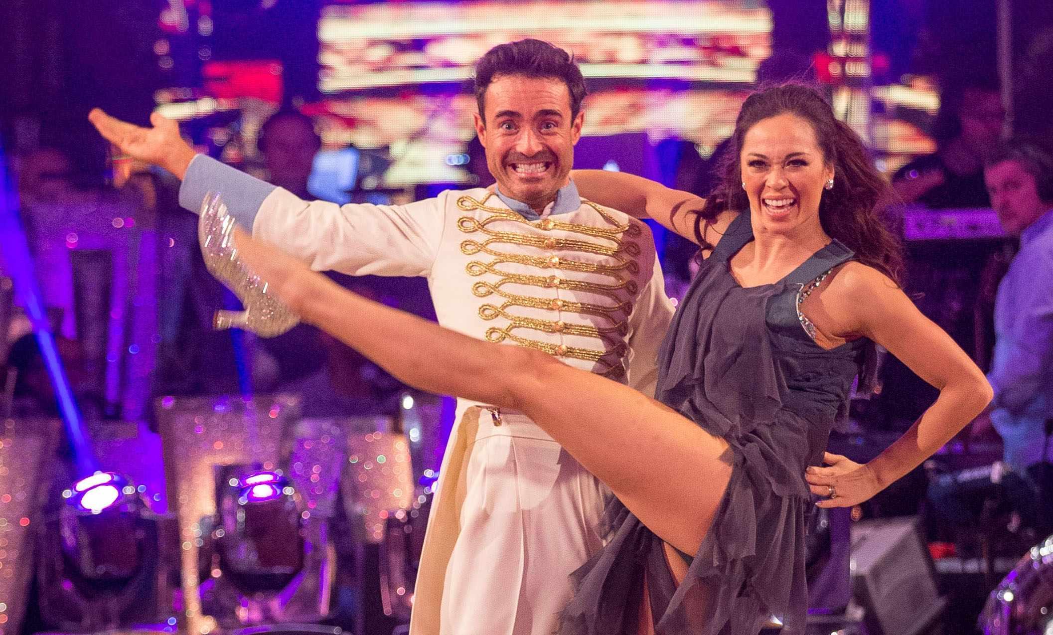 Joe McFadden in Strictly Come Dancing 2017 Final