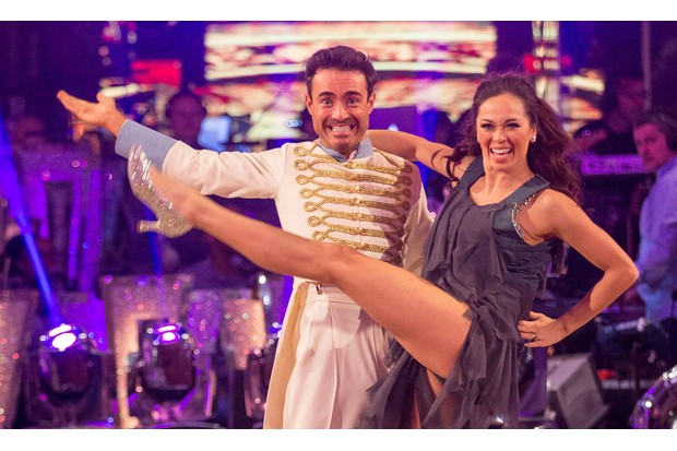Joe McFadden in Strictly Come Dancing 2017 Final