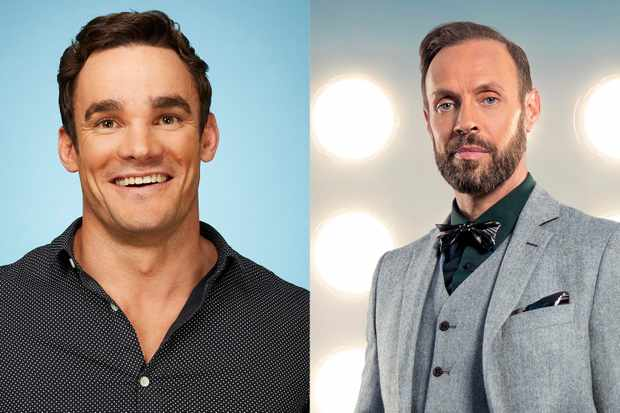 Dancing on Ice Max Evans and Jason Gardiner 2018
