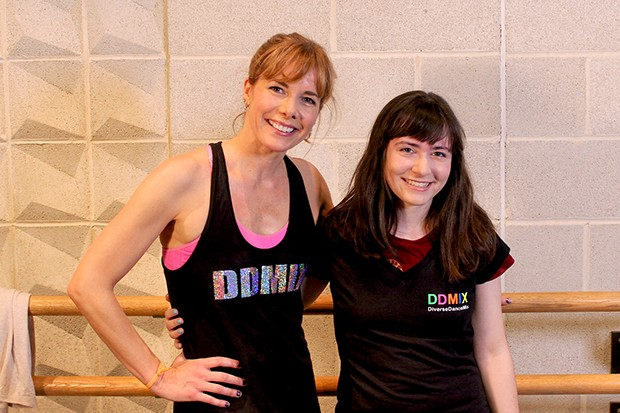 Darcey Bussell and Eleanor Bley Griffiths