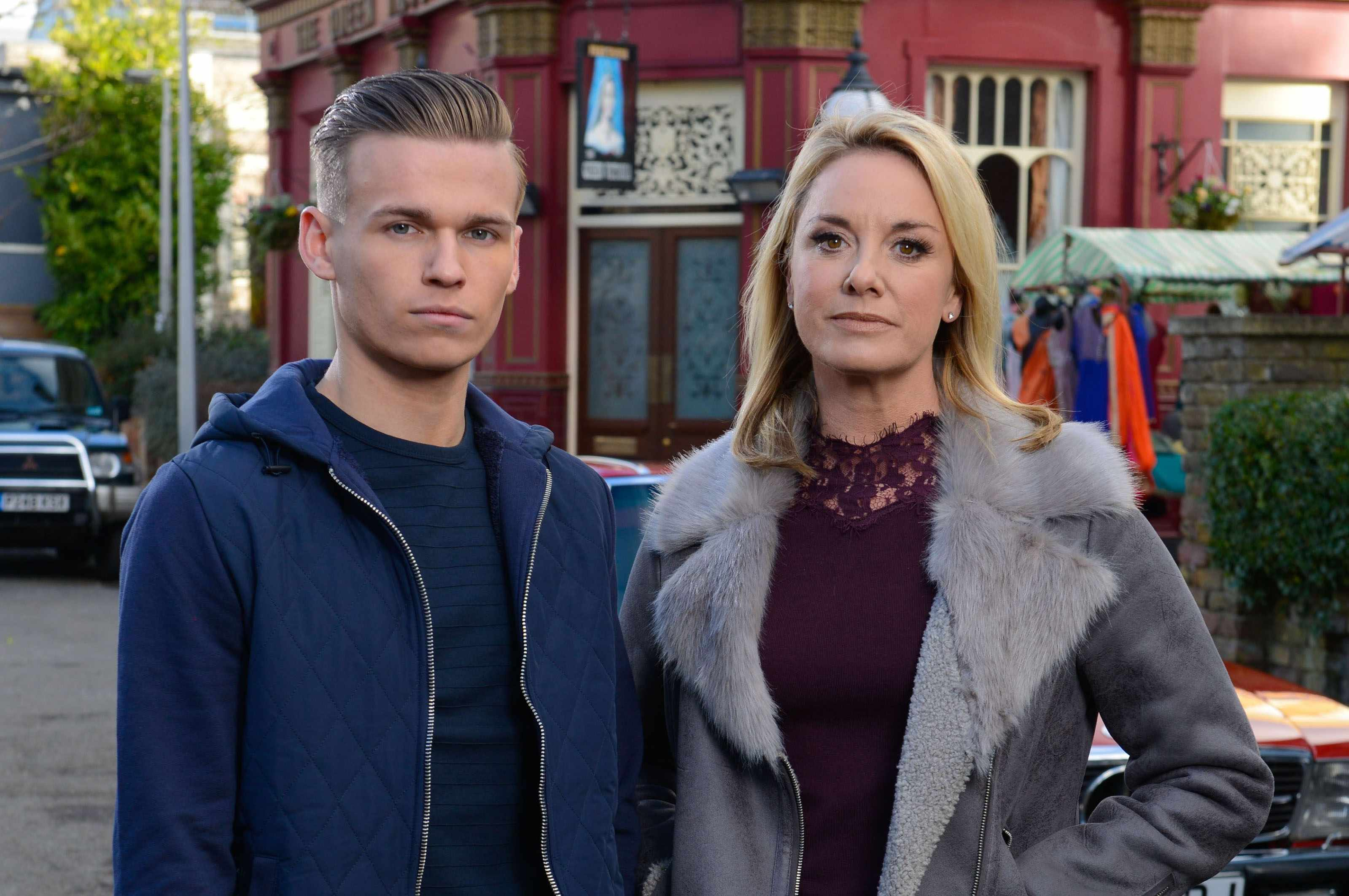EastEnders - Mel & Hunter