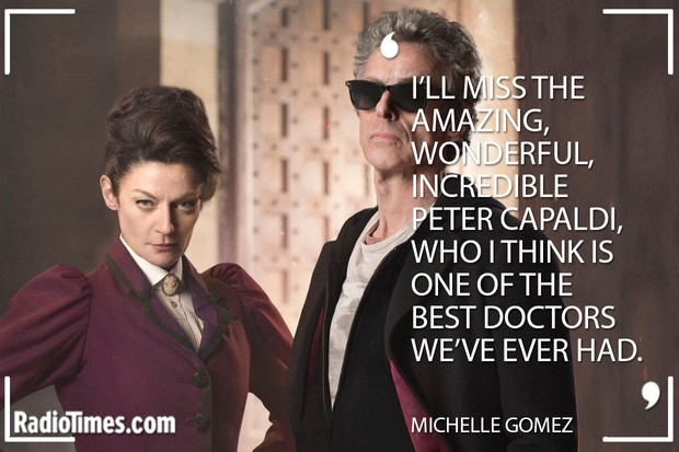 Peter Capaldi Tributes - Michelle Gomez