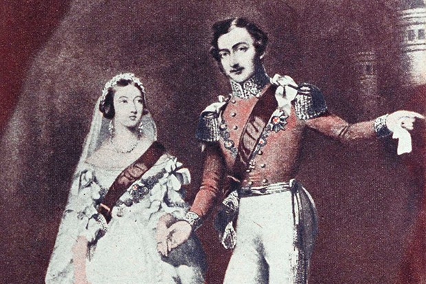Queen Victoria and Prince Albert in 1840