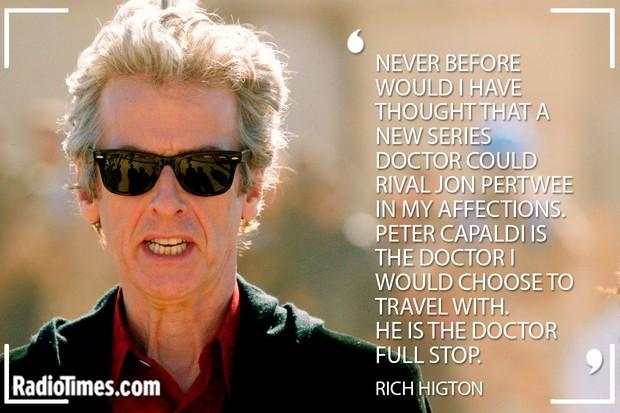 Peter Capaldi Tributes - Rich Higton