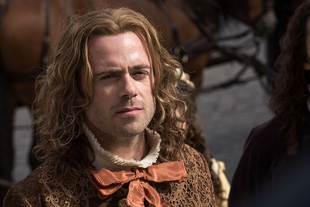 Rory Keenan plays Leopold in Versailles