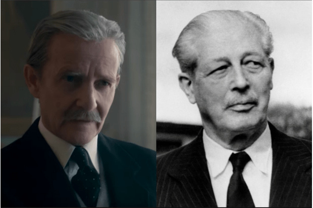 Harold Macmillan in The Crown