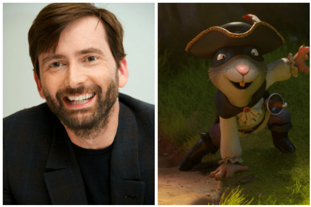 David Tennant The Highway Rat (Getty, BBC, EH)