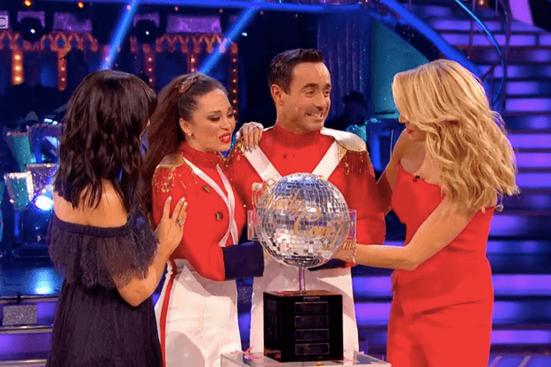 Joe McFadden and Katya Jones win Strictly 2017