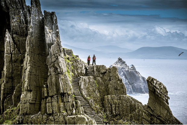 In the 6th century, Skellig Michael was a monastery