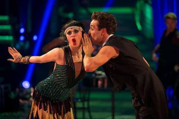 Strictly stars Joe McFadden and Katya Jones