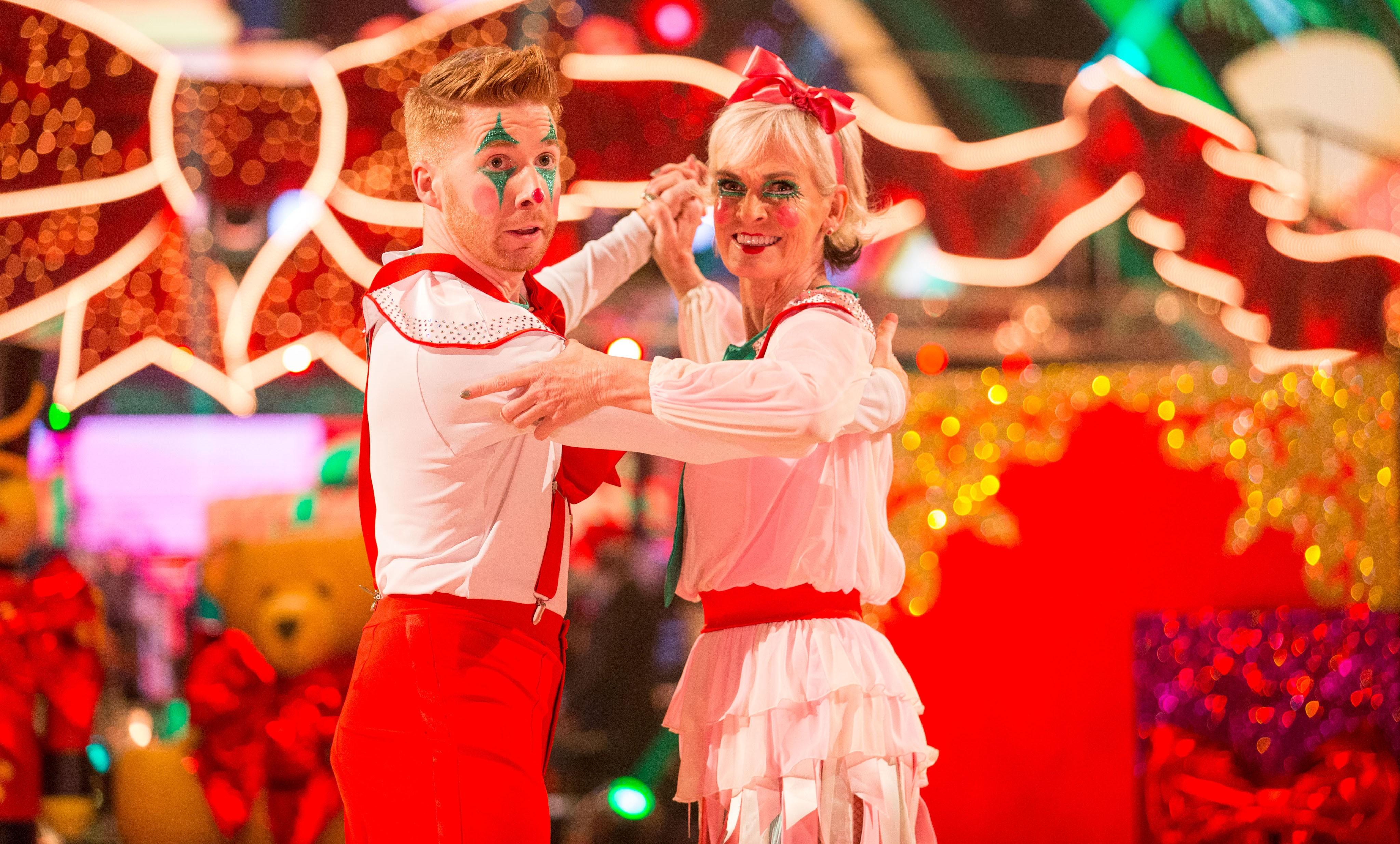 Strictly Come Dancing Christmas Special 2017 - Judy Murray and Neil Jones