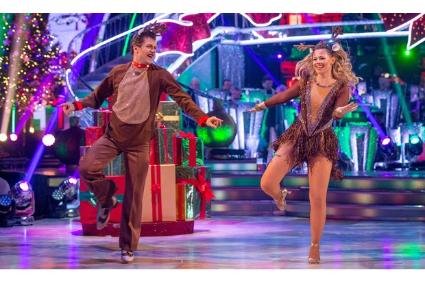 Strictly Come Dancing Christmas Special 2017 - Kimberley Walsh