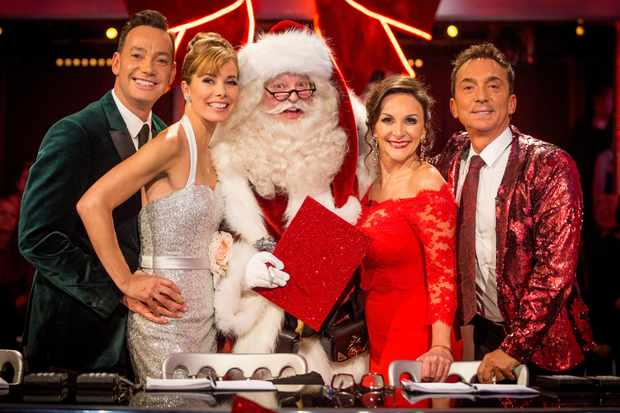 Strictly Come Dancing Christmas Special 2017 - Craig Revel Horwood, Darcey Bussell, Shirley Ballas and Bruno Tonioli