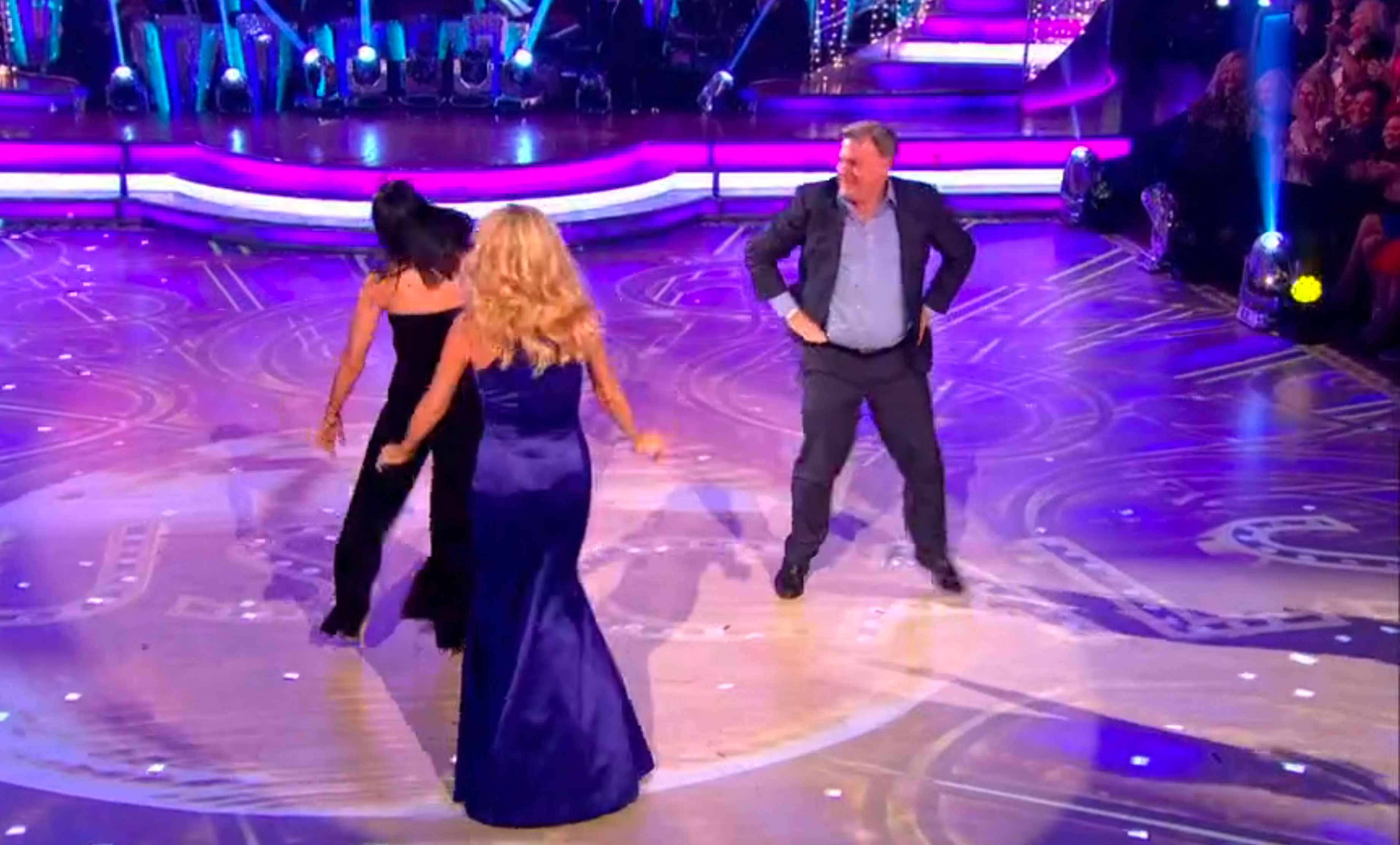 Ed Balls on Strictly Come Dancing 2017