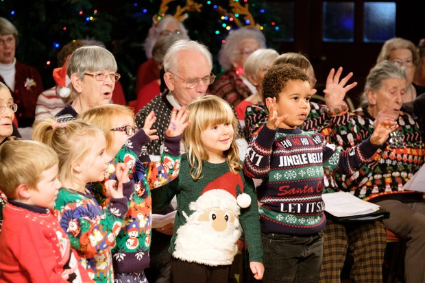 old peoples home for 4 year olds christmas channel 4 jg - Why Is Christmas Called Xmas