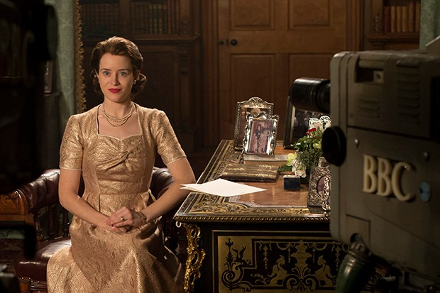 The Crown - Queen Elizabeth delivers her first televised Christmas address