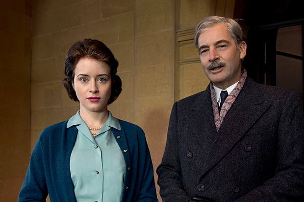 The Crown - the Queen and Anthony Eden