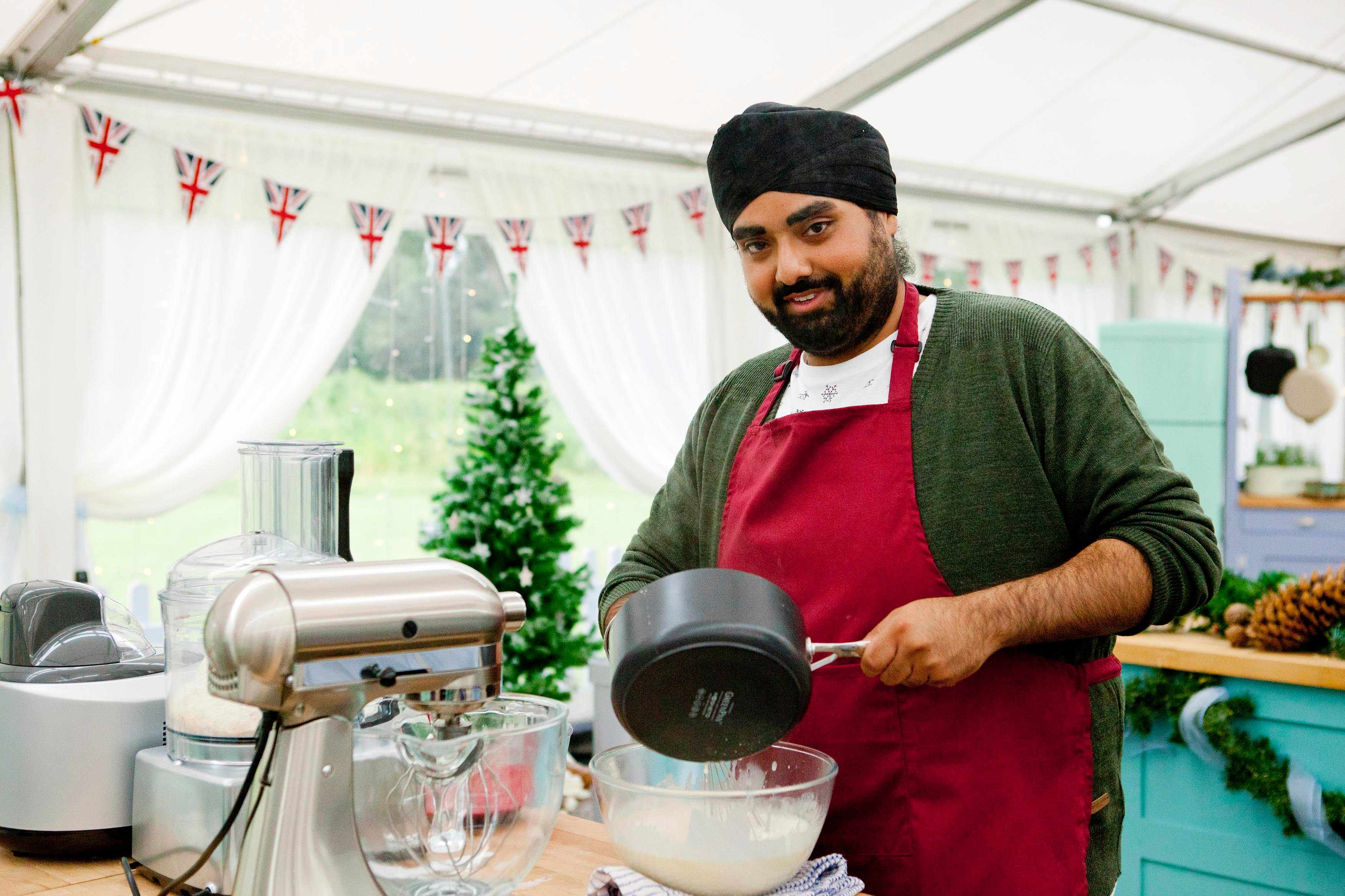 The Great Festive Bake Off: - Rav Bansal (C4, TL)