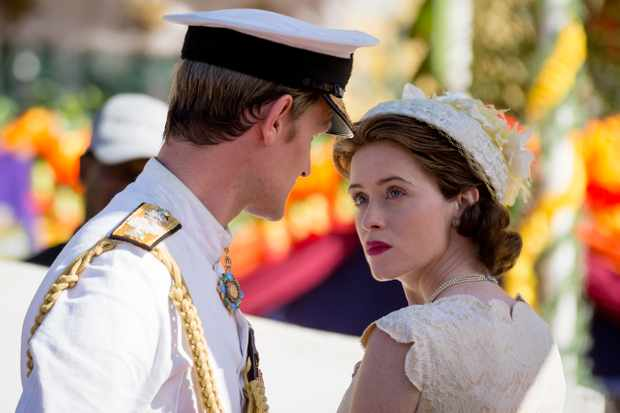 best series currently streaming on netflix matt smith and claire foy as prince philip and queen elizabeth in the crown season 2 - Best Christmas Episodes On Netflix