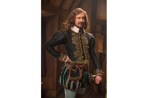 Programme Name: Upstart Crow - TX: n/a - Episode: A Christmas Crow (No. 7) - Picture Shows: Marlowe (TIM DOWNIE) - (C) BBC - Photographer: Colin Hutton