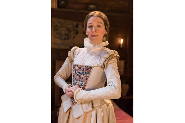 Programme Name: Upstart Crow - TX: n/a - Episode: A Christmas Crow (No. 7) - Picture Shows: Kate (GEMMA WHELAN) - (C) BBC - Photographer: Colin Hutton