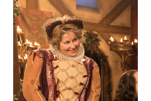Upstart Crow cropped Liza Tarbuck