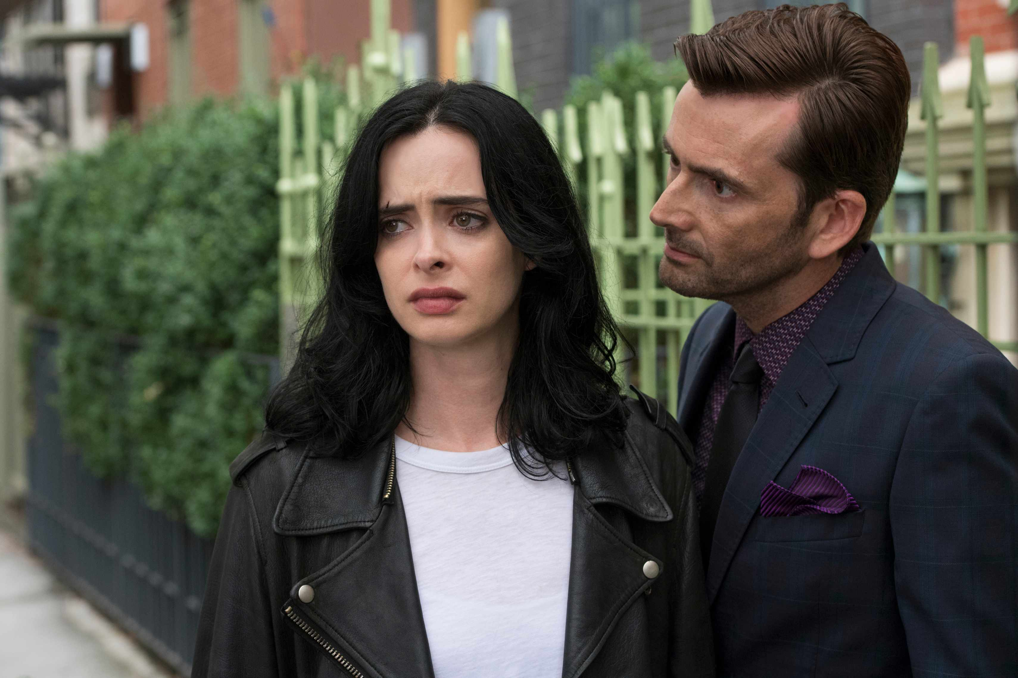 Marvel's Jessica Jones, David Tennant (Netflix, BA)