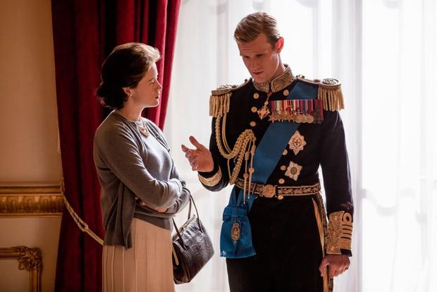 Matt Smith Claire Foy The Crown